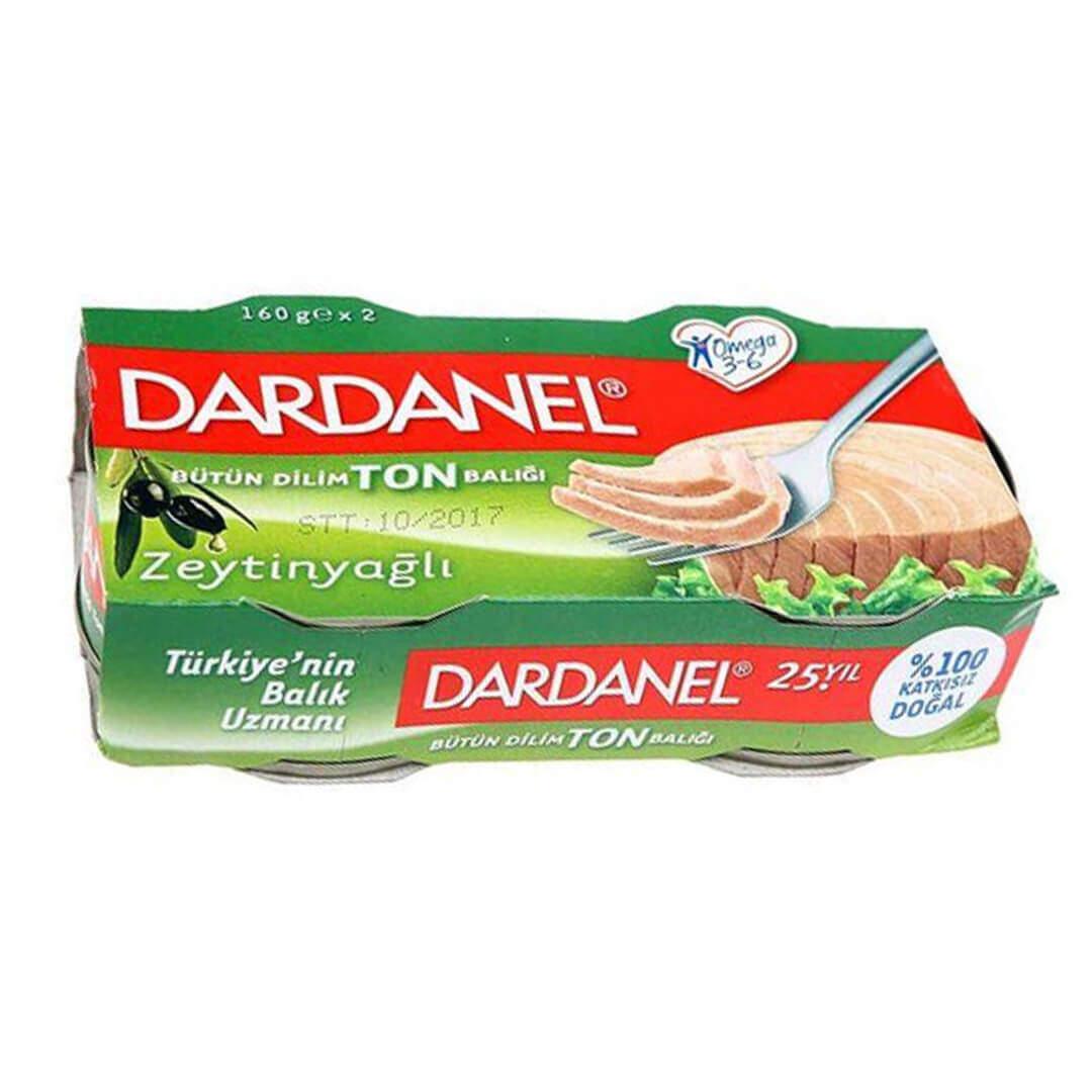 Dardanel Ton Zeytinyağlı 2'li 160 Gr.