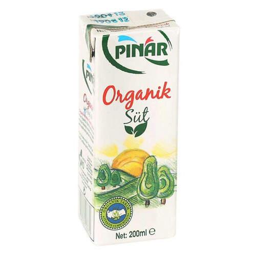 Pınar Organik Süt 200 Ml.