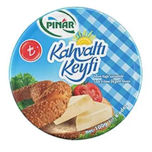Pınar Yarım Yağlı Sade Üçgen Peynir 8x12
