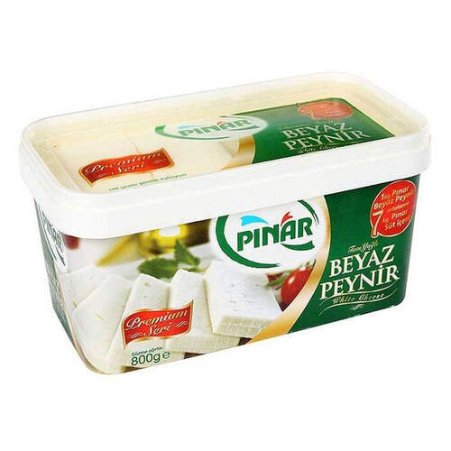 Pınar Tam Yağlı Beyaz Peynir 800 Gr.