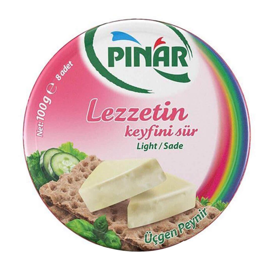 Pınar Light Sade Üçgen Peynir 100 Gr.