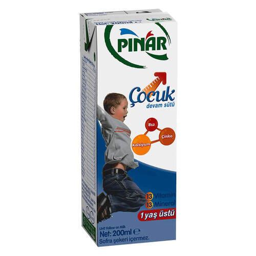 Pınar Çocuk Devam Sütü 200 Ml.