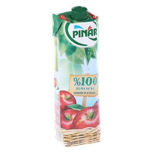 Pınar Meyve Suyu %100 Elma 1 Lt.