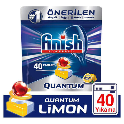 Finish Quantum Limon 40'lı Tablet