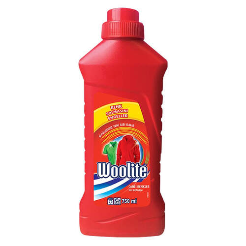 Woolite Color Sıvı Deterjan 750 Ml.