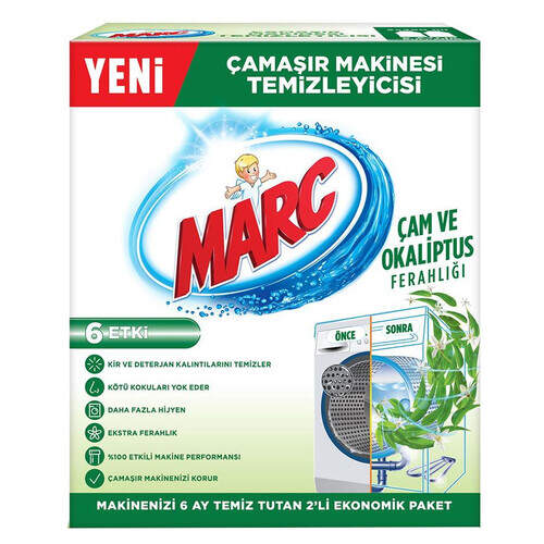 Marc Çamaşır Makinesi Temizleyici Çam Ve Okaliptus