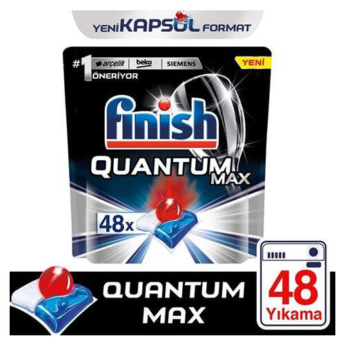Fınısh Quantum Max Normal 48 Li Tablet