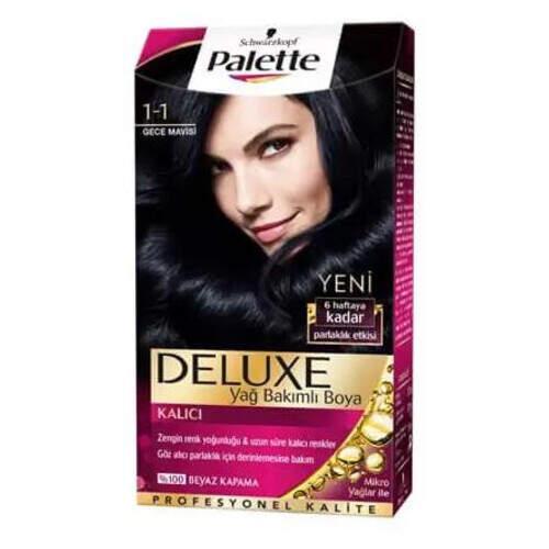 Palette Deluxe 1-1 Gece Mavısı 50 Ml