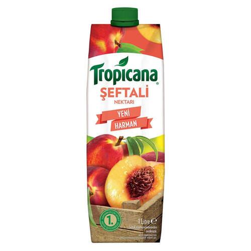 Tropicana Meyve Suyu Bursa Şeftali 1 Lt.