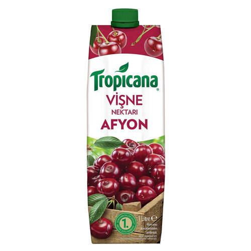 Tropicana Meyve Suyu Afyon Vişne 1 Lt.