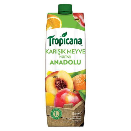 Tropicana Meyve Suyu Anadolu Karışık 1 Lt.