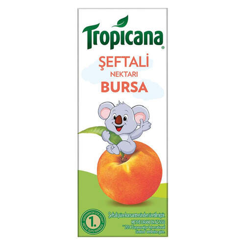 Tropicana Meyve Suyu Bursa Şeftali 200 Ml.