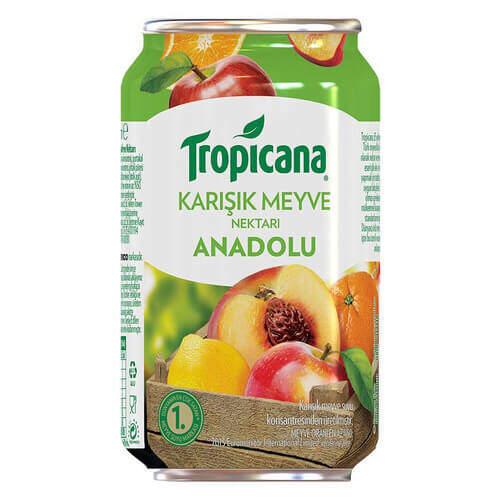 Tropicana Meyve Suyu Anadolu Karışık 330 Ml.