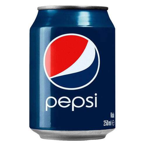 Pepsi Cola Teneke Kutu 250 Ml.