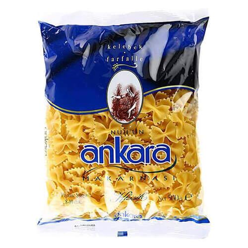 Ankara Makarna Klasik Farfella Kelebek 500 Gr.