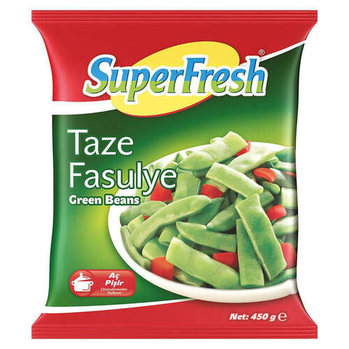 Super Fresh Taze Fasulye 450 Gr.