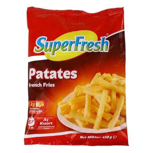Super Fresh Patates 450 Gr.