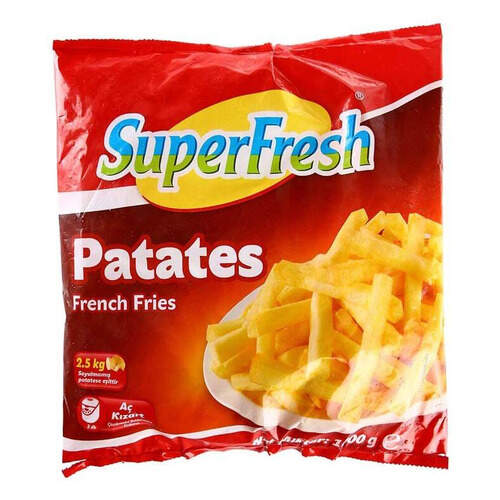 Super Fresh Patates 1000 Gr.