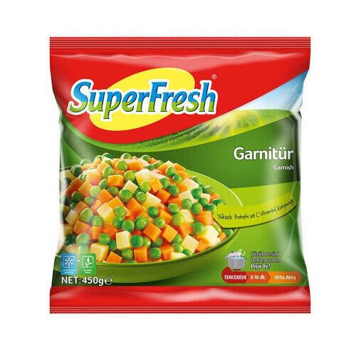 Superfresh Garnitür 450 Gr.