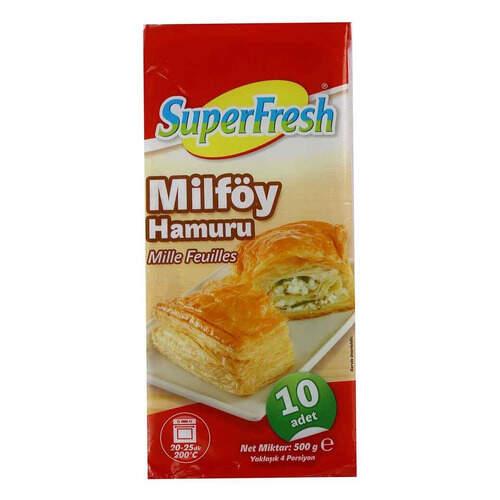 Super Fresh Milföy Hamuru 500 Gr.