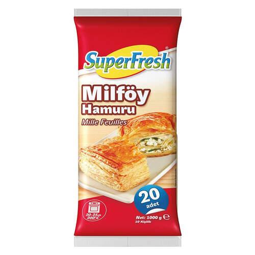 Super Fresh Milföy Hamuru 1000 Gr.