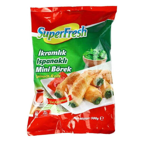 Super Fresh Mini Ispanaklı Börek 500 Gr.