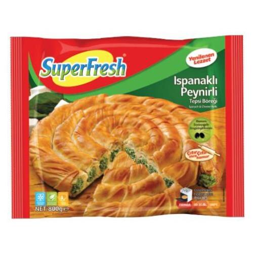 Super Fresh Ispanaklı Tepsi Böreği 800 Gr