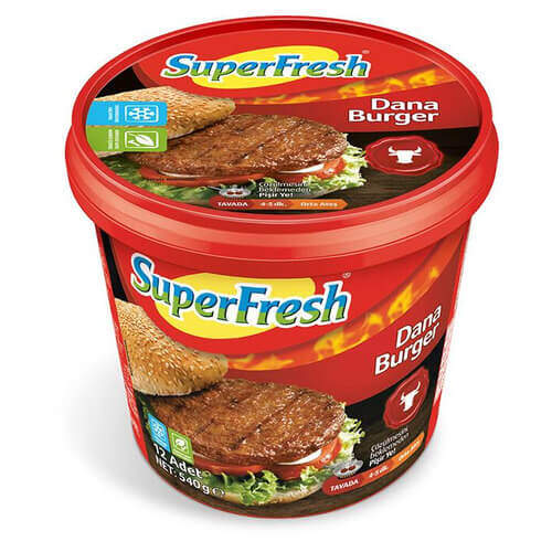 Superfresh Hamburger Köfte 540 Gr.
