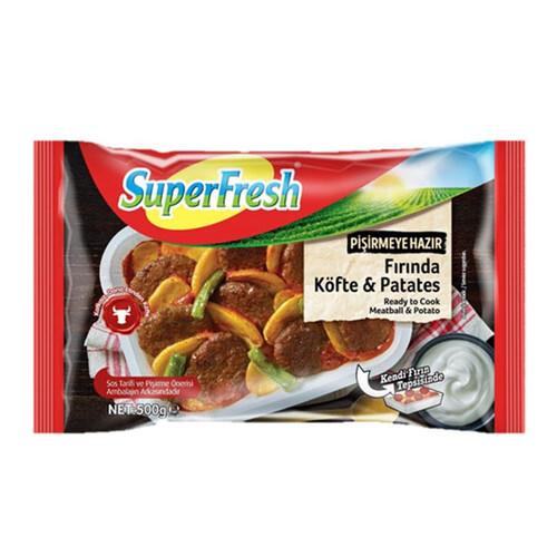 Super Fresh Fırında Kofte Patates 500 Gr