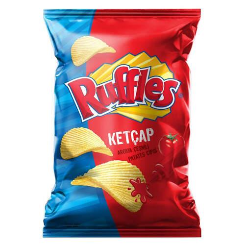 Ruffles Ketçap Aromalı Patates Cipsi