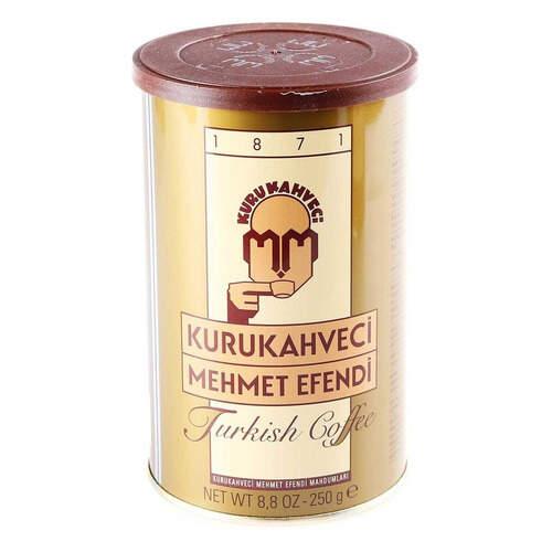 Mehmet Efendi Türk Kahvesi Teneke 250 Gr.