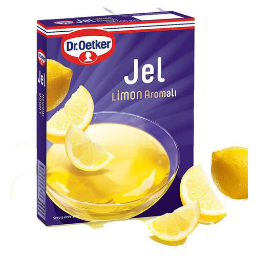 Dr. Oetker Limon Aromalı Jel 100 Gr.