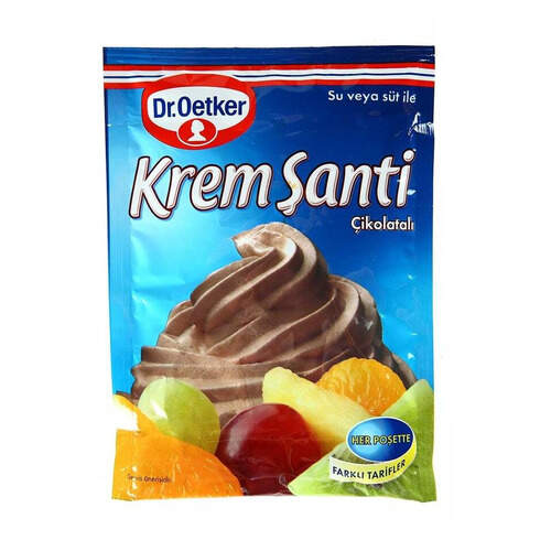 Dr. Oetker Çikolatalı Krem Şanti 80 Gr.