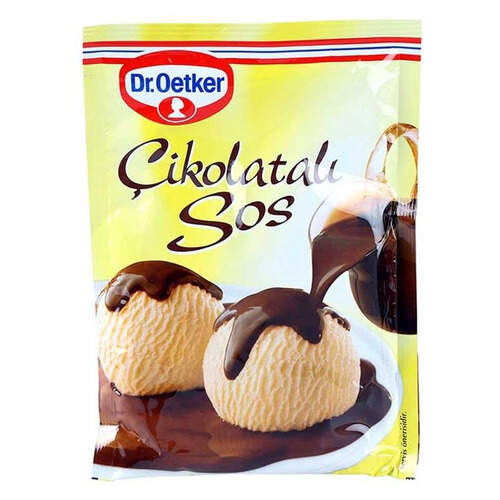 Dr. Oetker Çikolatalı Sos 128 Gr.