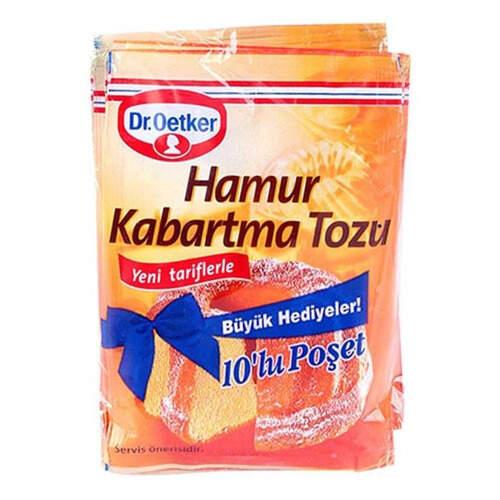 Dr. Oetker Hamur Kabartma Tozu 10'lu 100 Gr.