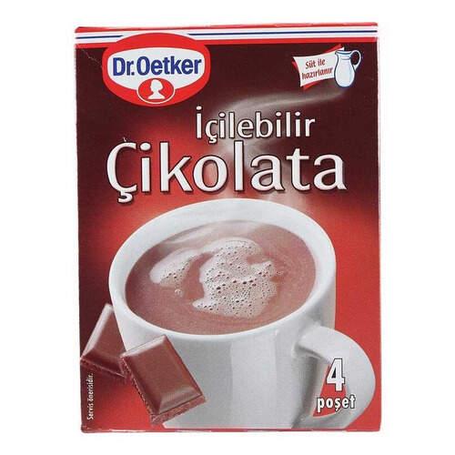 Dr. Oetker Sıcak İçilebilir Çikolata 4'lü Ekonomik Paket