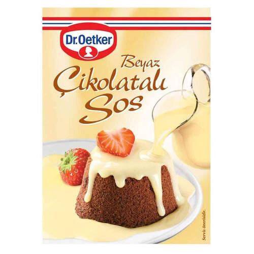 Dr. Oetker Beyaz Çikolatalı Sos 80 Gr.