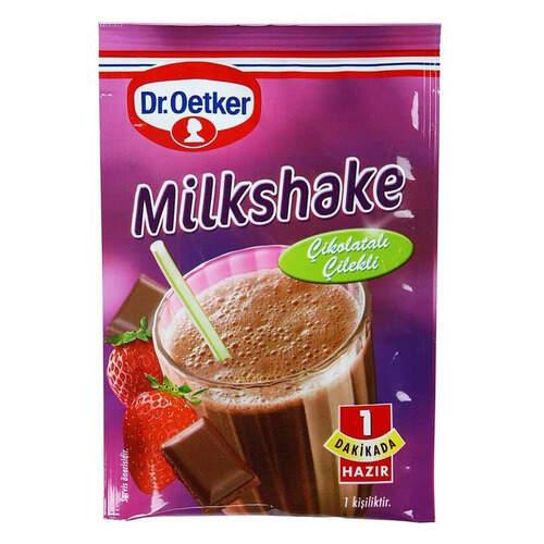Dr Oetker Çikolatali Çilekli Milkshake 30 Gr.