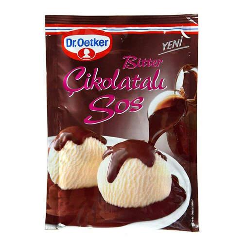 Dr. Oetker Bitter Çikolata Sos 125 Gr.