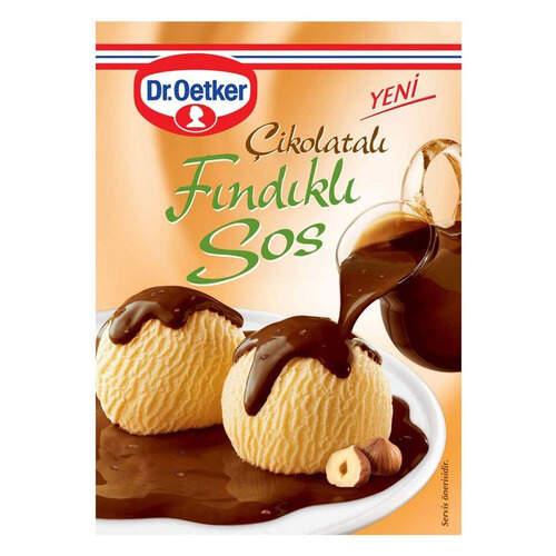 Dr. Oetker Çikolatalı Fındıklı Tatlı Sosu 130 Gr.