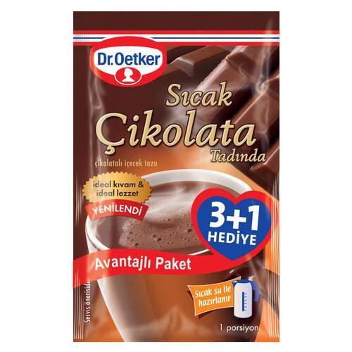 Dr. Oetker Sicak Çikolata 3+1
