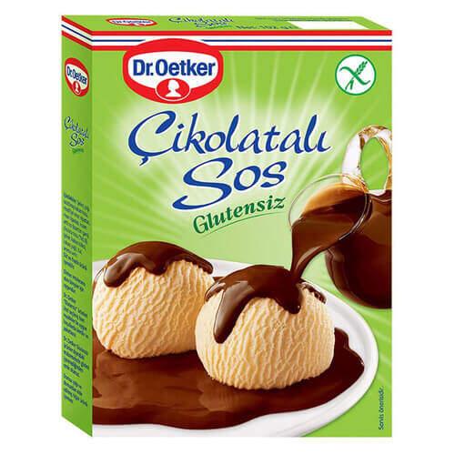 Dr. Oetker Glutensiz Çikolatalı Sos 128 Gr.