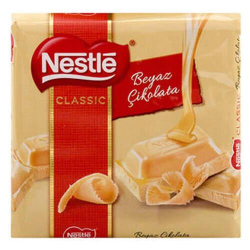 Nestle Classic Beyaz Çikolata 65 Gr.