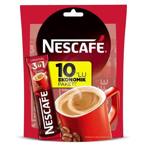 Nescafe 3'ü 1 Arada 10'lu Paket