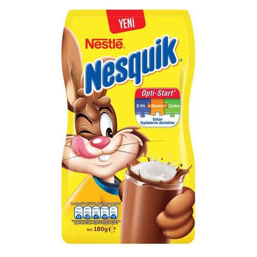 Nestle Nesquik Kakaolu Poşet 180 Gr.