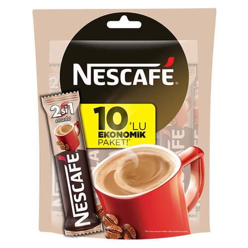 Nescafe 2'si 1 Arada 10'lu Paket