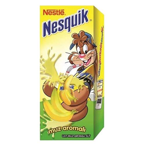 Nestle Nesquık Muzlu Süt 180 Ml.