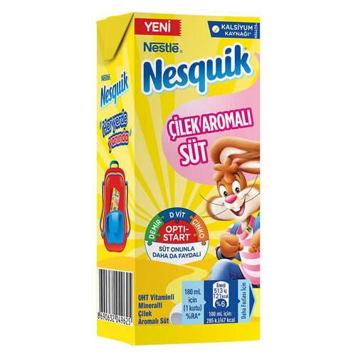 Nestle Nesquık Çilekli Süt 180 Ml.