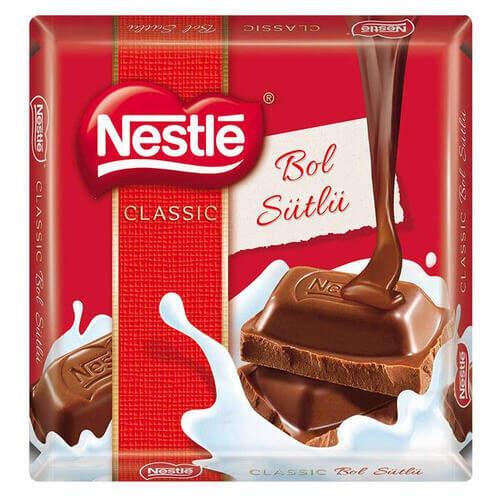 Nestle Sütlü Kare Çikolata 65 Gr.