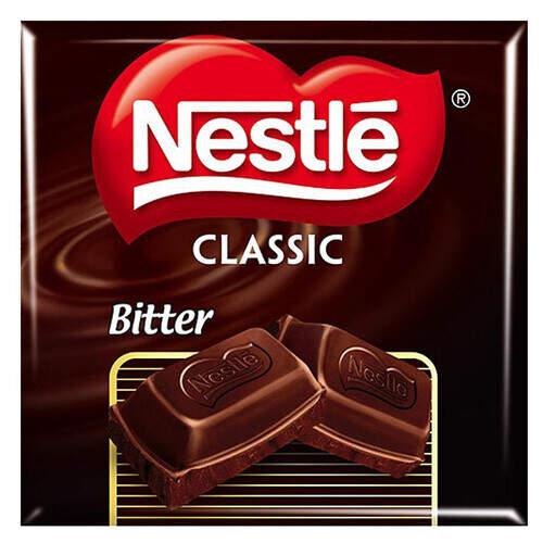 Nestle Bitter Tablet Çikolata 70 Gr.